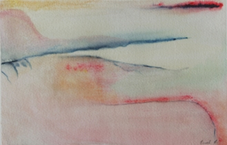 Norah Brennan | A Whisper I | Watercolour on Fabriano