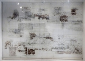 3. Landscape_Layered drawing on drafting film_170 x  120 cm_2014.