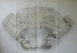 6. SP 84137 38656 (4) (North Grafton)_ Drawing on drafting film_ 130 X 84 CM_ 2014.