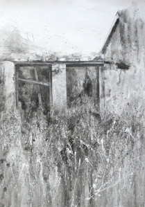 3 The Grandparents' Old Home, Cavan - Mixed Media on Paper