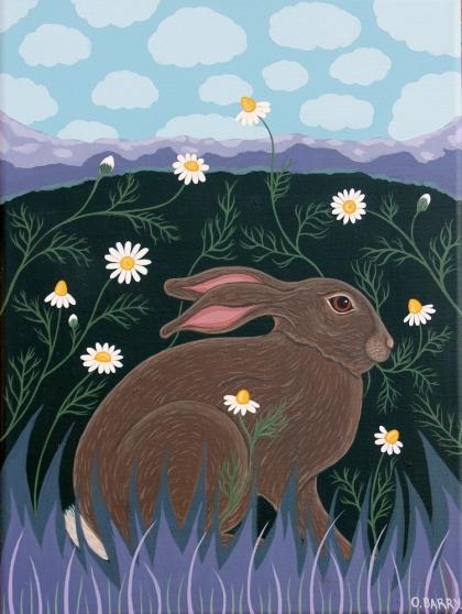 Orla Barry, Calm Hare in Camomile