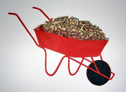 veal calf wheelbarrow