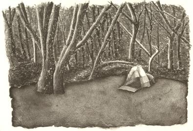 Veronica Calarco | Australia Title: Barndan Medium: Lithograph Size: 36x25cm Price: £80