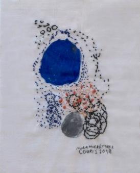 Artist: Marrianne Büttiker | Switzerland Title: 'Untitled. Medium: Stitching and ink on Fabric. Dimensions: Price: £30