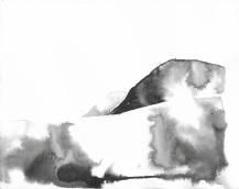 Artist: Katy Shorttle | England Residency: 2019 'Cader Idris' Medium: Indian Ink on paper Dimensions: 12cm x 15cm Price: £50