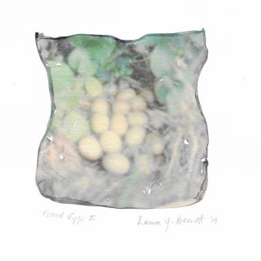 "Artist: Laura Bennett | USA Title: Found Eggs I Size: 6""x8"" Medium: Polaroid transfer on Archival Paper Price: £70"