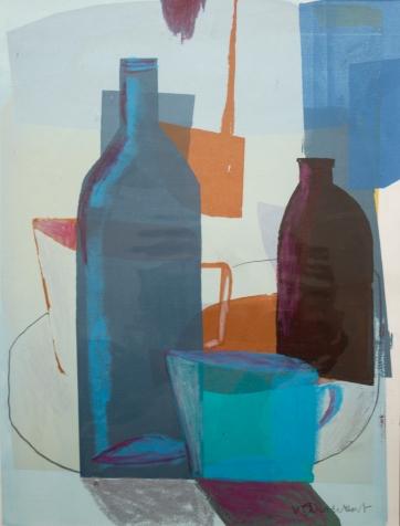 Artist: Vanessa Cuthbert | England Residency: 2018 Title: 'Still life' Medium: Silkscreen print Dimensions: 28x38cm Price:£120