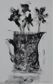 Artist: Vanessa Cuthbert | England Residency: 2017 Title: 'Flowers' Medium: Mono-print Dimensions: 21cm x 30cm Price: £65
