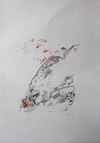 Artist: Emily Tapp | England Residency: 2017 Title: 'Untitled Medium: drawing on paper. Dimensions: 59.5cm x 42cm Price: £45
