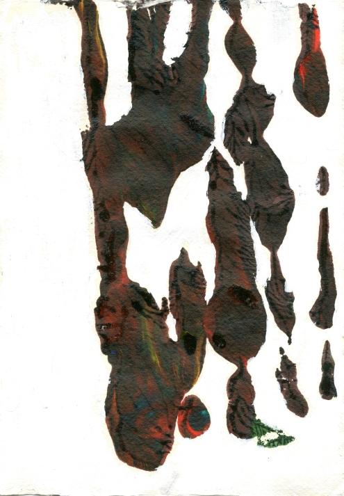 Artist: Vidamante Cerniauskaite | England Residency: 2015 Title: 'Untitled' Medium: Acrylic on paper. Dimensions: 21cm x 30cm Price: £40