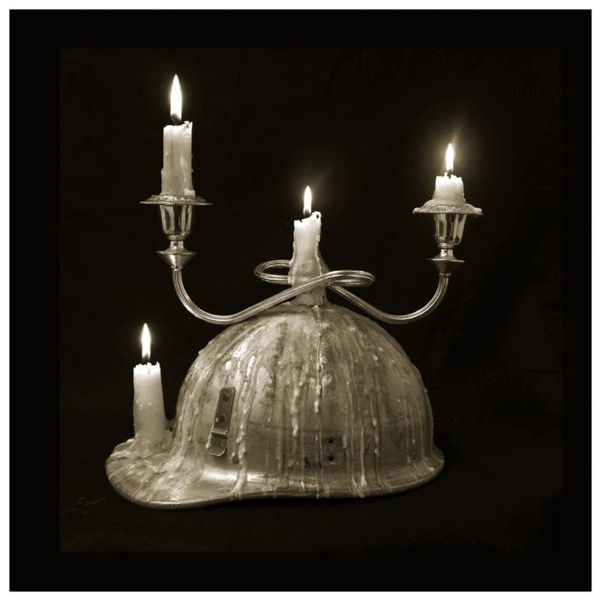 Artist: Sue Kneebone | Australia Title: Miner's Hat Medium: Photograph on metallic paper (edition. 1/3) framed £300