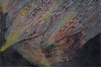 Penelope Lawry | Australia Title: Untitled Medium: linocut Dimensions: 30x21cm Price: £80