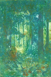 Eileen Keane | Ireland Title:Lost in the Forest Size: 16 x 24cm Medium: Collagraph Price: unframed: £55 / £80 framed
